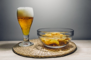 Canva - Clear Glass Bowl Filled With Chips